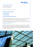 Download Laminated Glass Brochure